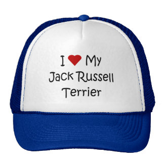 I Love My Jack Russell Terrier Dog Lover Gifts Trucker Hat