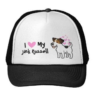 I Love My Jack Russell Terrier Trucker Hat