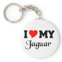 I love my Jaguar Keychain