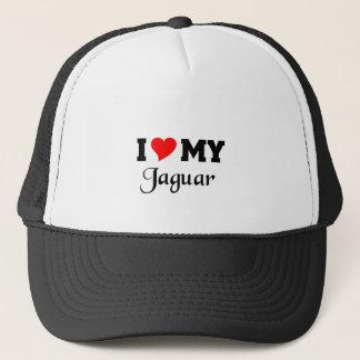 I love my Jaguar Trucker Hat