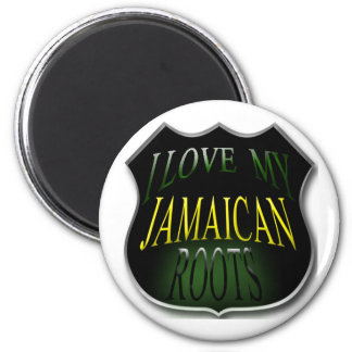 I Love My Jamaica Roots Magnet