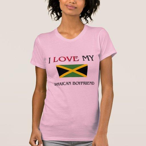 I Love My Jamaican Boyfriend Tee Shirt