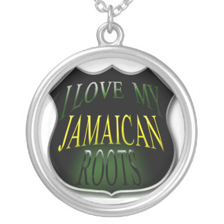 I Love My Jamaican Roots Necklace