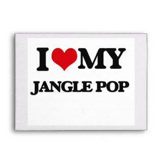 I Love My JANGLE POP Envelope