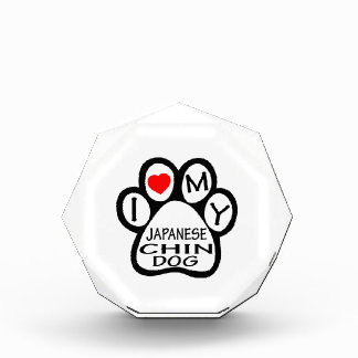 I Love My Japanese Chin Dog Award
