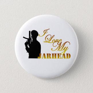 I Love My Jarhead 3 Button