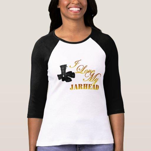I Love My Jarhead 4 Tee Shirt