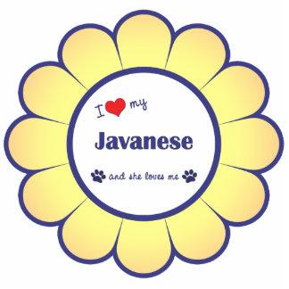 I Love My Javanese (Female Cat) Statuette