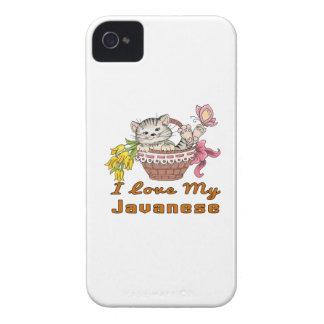 I Love My Javanese iPhone 4 Case
