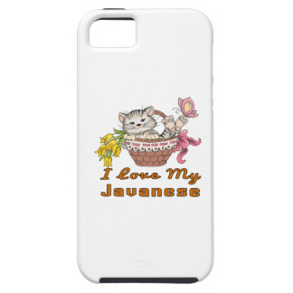 I Love My Javanese iPhone SE/5/5s Case