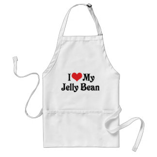 I Love My Jelly Bean Aprons
