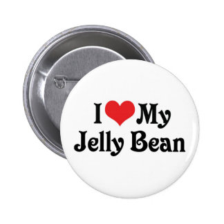 I Love My Jelly Bean Buttons