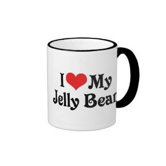 I Love My Jelly Bean Coffee Mug