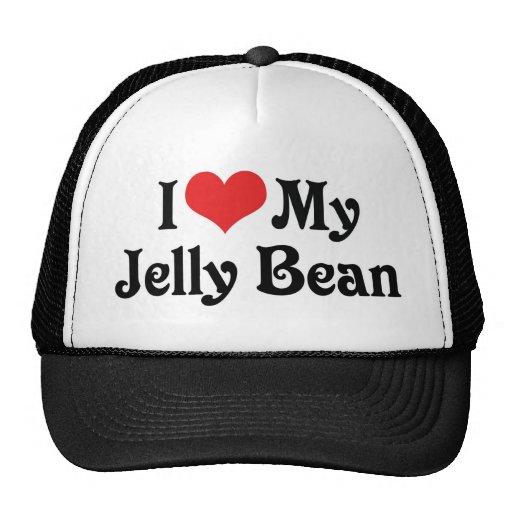 I Love My Jelly Bean Trucker Hat