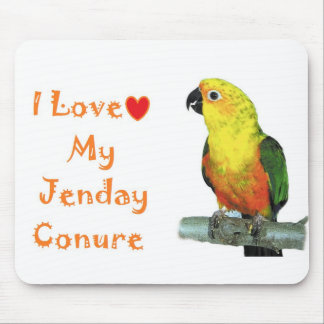 I love my Jenday Conure Computer Mouse Pad