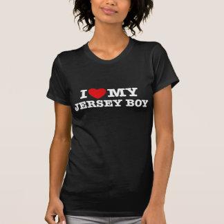 I Love My Jersey Boy Tee Shirts