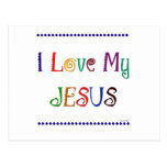 I Love My Jesus Postcard