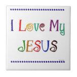 I Love My Jesus Tiles