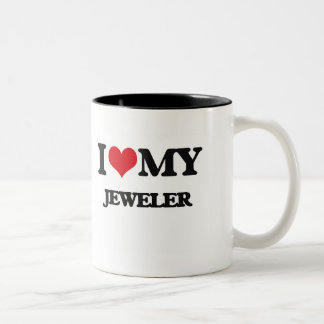 I love my Jeweler Two-Tone Coffee Mug