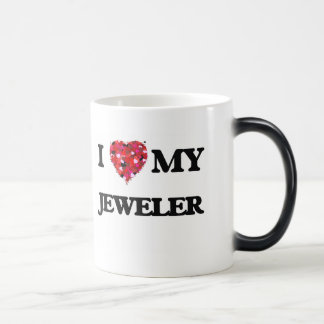 I love my Jeweler 11 Oz Magic Heat Color-Changing Coffee Mug