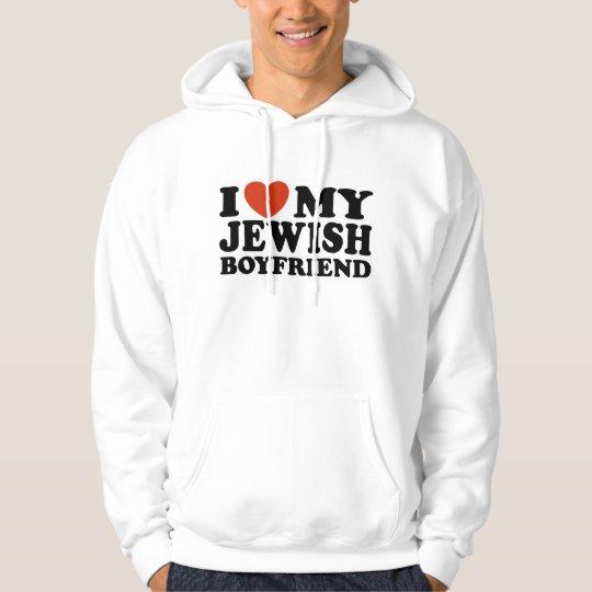 I Love My Jewish Boyfriend Hoodie