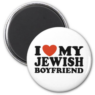 I Love My Jewish Boyfriend Fridge Magnets