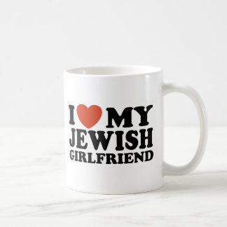 I Love My Jewish Girlfriend Coffee Mugs