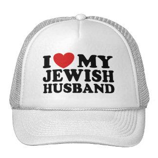 I Love My jewish Husband Mesh Hat