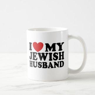 I Love My jewish Husband Mug