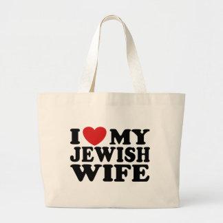 I Love My jewish Wife Bag