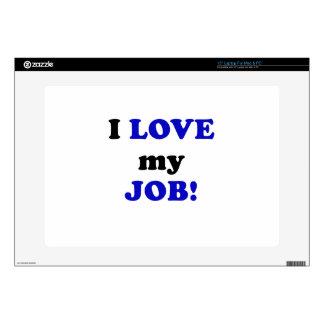 "I Love my Job 15"" Laptop Decals"