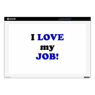 "I Love my Job 17"" Laptop Skins"