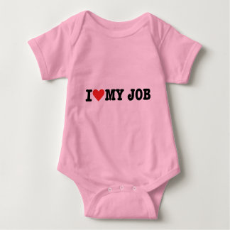 I love my job baby bodysuit