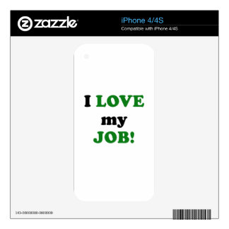 I Love my Job Decals For iPhone 4