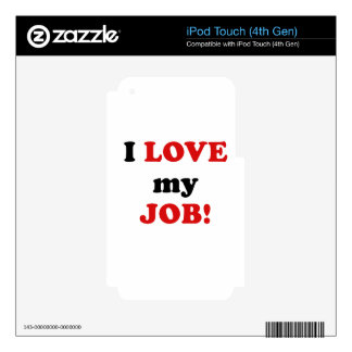 I Love my Job Decals For iPod Touch 4G