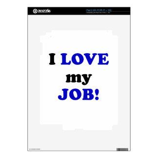 I Love my Job iPad 2 Decals