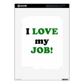 I Love my Job iPad 3 Decal
