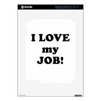 I Love my Job iPad 3 Decals
