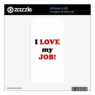 I Love my Job iPhone 4S Decal