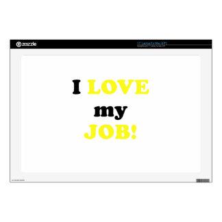 I Love my Job Skin For Laptop