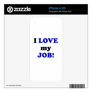 I Love my Job Skins For The iPhone 4S