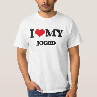 I Love My JOGED Tee Shirt