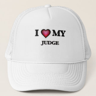 I love my Judge Trucker Hat