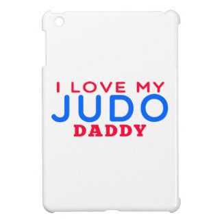 I Love My Judo Daddy iPad Mini Cases