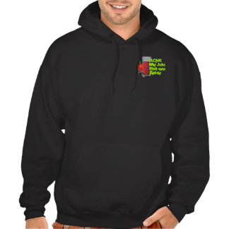 I love my juice hot and spicy by Valx - Customized Hooded Sweatshirts