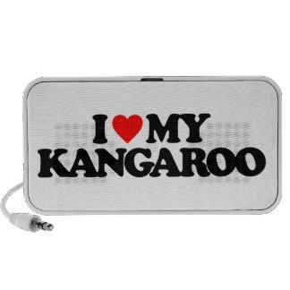I LOVE MY KANGAROO LAPTOP SPEAKER