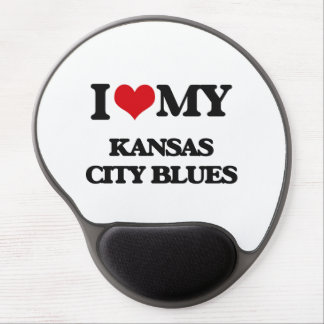 I Love My KANSAS CITY BLUES Gel Mouse Pad