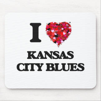 I Love My KANSAS CITY BLUES Mouse Pad