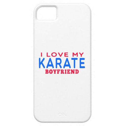I Love My Karate Boyfriend iPhone 5/5S Covers
