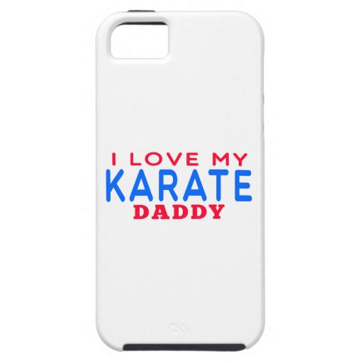 I Love My Karate Daddy iPhone 5 Cases